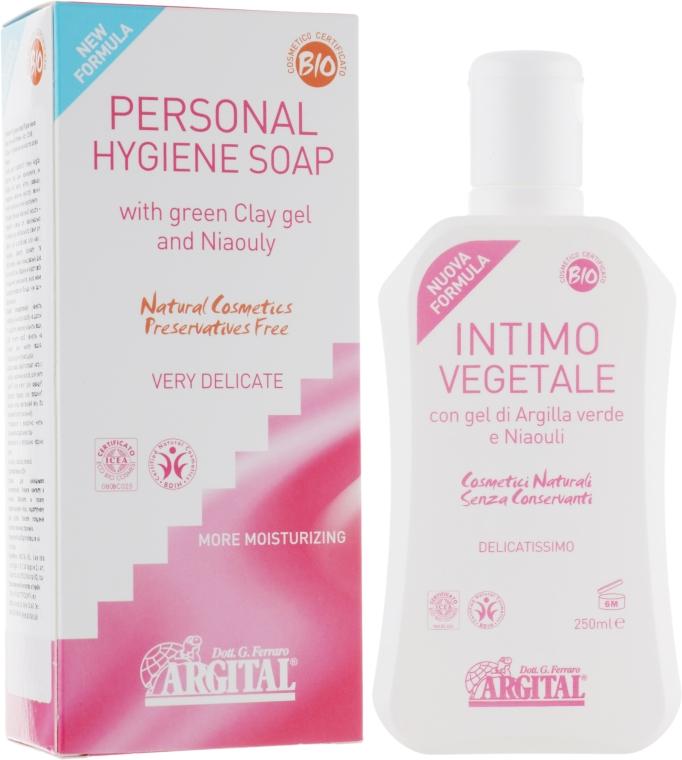 Жидкое мыло для интимной гигиены - Argital Personal Hygiene Soap
