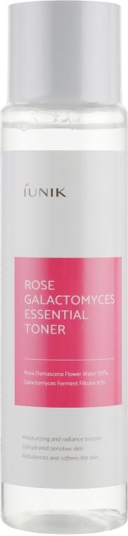 Увлажняющий тонер - iUNIK Rose Galactomyces Essential Toner