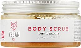 Духи, Парфюмерия, косметика Скраб для тела антицеллюлитный - Vegan Fox Anti-Cellulite Body Scrub