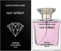 Christopher Dark Noir Brillant - Парфумована вода — фото N2