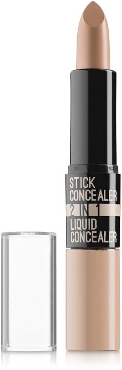 Стик и жидкий консилер 2в1 - Ruby Rose Stick Concealer & Liquid Concealer