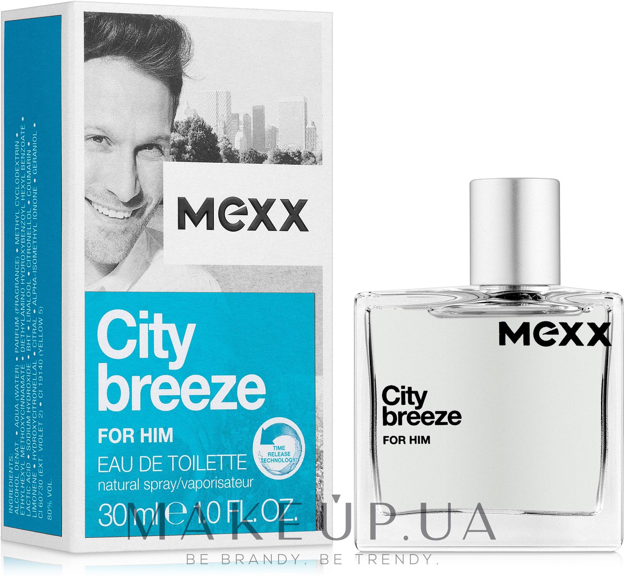 Mexx City Breeze For Him - Туалетная вода — фото 30ml