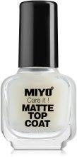 Духи, Парфюмерия, косметика Топовое матовое покрытие - Miyo Matte Top Coat