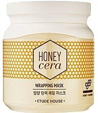 Духи, Парфюмерия, косметика Маска для лица - Etude House Honey Cera Wrapping Mask