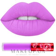 Жидкая помада для губ - Lime Crime Velvetines Lipstick — фото Rave