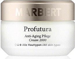 Духи, Парфюмерия, косметика Антивозрастной уход за кожей для всех типов кожи - Marbert Profutura Anti-Aging Skin Care Cream 2000