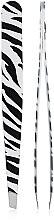 Духи, Парфюмерия, косметика Пинцет 9,5 см, 03724, принт зебра - Pollie Tweezer Animal Print