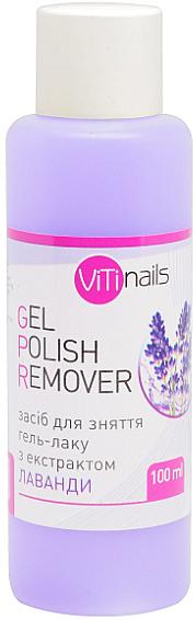 Жидкость для снятия гель-лака с экстрактом лаванды - ViTinails Gel Polish Remover