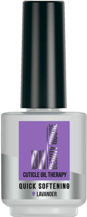 "Масло для ухода за кутикулой и ногтями ""Лаванда"" - Beauty House Cuticle Oil Therapy Quick Softening Lavander"