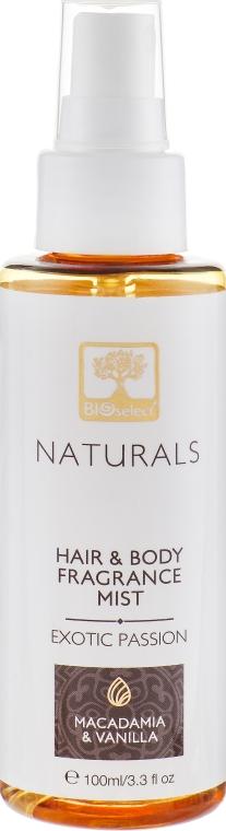"""Парфюмированный спрей для тела и волос """"Экзотическая страсть"""" - BIOselect Naturals Fragrance Mist"""
