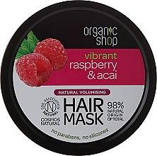 Духи, Парфюмерия, косметика Маска для волос - Organic Shop Raspberry & Acai Hair Mask