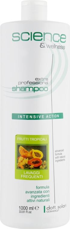 Тропический шампунь для ежедневного применения - Dott. Solari Science & Welness Tropical Shampoo For Daily Use