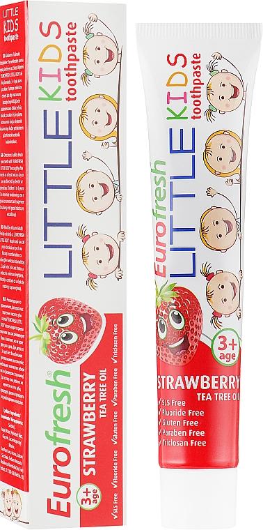 Детская зубная паста - Farmasi Eurofresh Strawberry ToothPaste