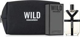 Духи, Парфюмерия, косметика Dsquared2 Wild - Набор(edt/50ml + bag)