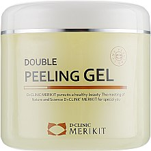 Пілінг-гель-скатка для обличчя - Merkit Double Peeling Gel — фото N1
