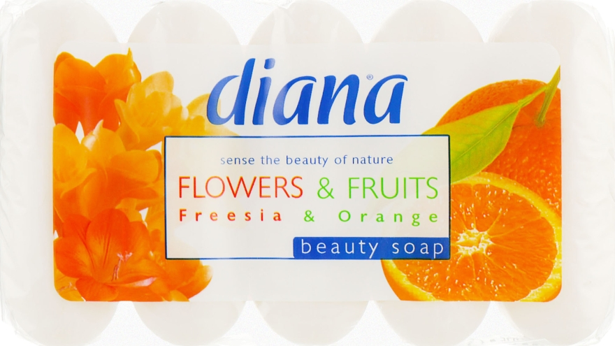 "Туалетное мыло ""Фрезия и апельсин"" - Dalan Diana Freesia & Orange Beauty Soap"