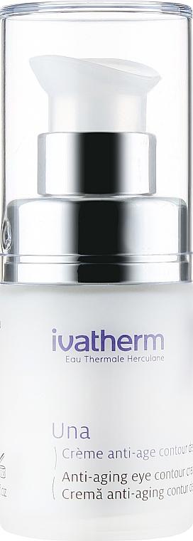 Антивозрастной крем для чувствительной кожи контура глаз - Ivatherm Una Anti-aging Eye Contour Cream