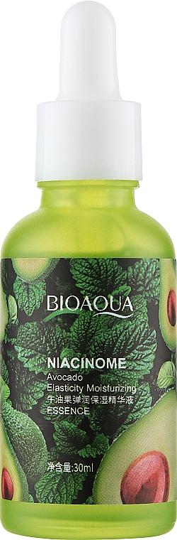 Эссенция подтягивающая кожу с никотинамидом и экстрактом авокадо - Bioaqua Niacinome Avocado Essence