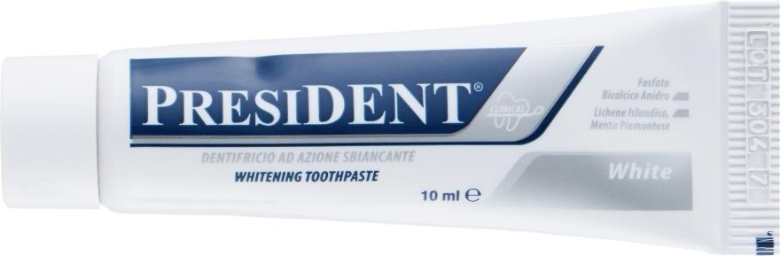"Зубная паста для отбеливания зубов ""White Clinical"" - PresiDENT (мини)"