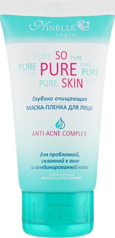 Глубоко очищающая маска-пленка для лица - Ninelle So Pure Skin