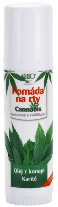 Бальзам для губ - Bione Cosmetics Cannabis Lip Balm with Shea Butter