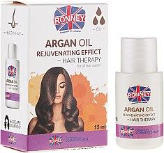 Духи, Парфюмерия, косметика Масло для усталых волос - Ronney Argan Oil Rejuvenating Hair Therapy