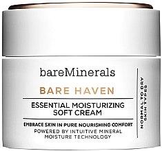 Духи, Парфюмерия, косметика Увлажняющий крем для нормальной и сухой кожи - Bare Escentuals Bare Minerals Bare Haven Essential Moisturizing Soft Cream