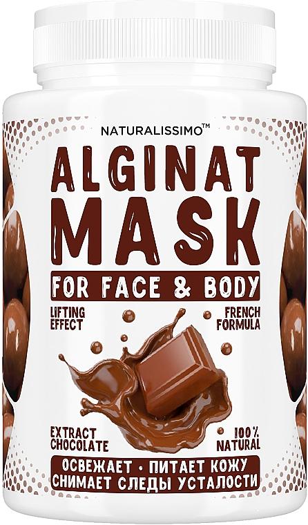 Альгинатная маска с шоколадом - Naturalissimoo Chocolate Alginat Mask