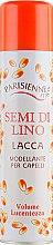 Духи, Парфюмерия, косметика Лак для волос с экстрактом семян льна - Parisienne Italia Lin Exance Hair Spray Strong Hold