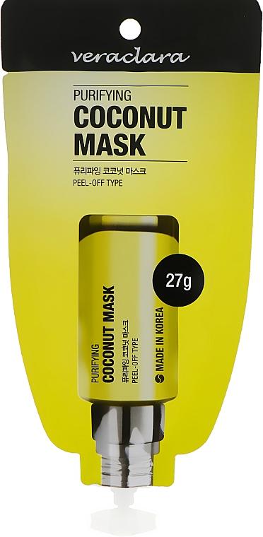 Маска-плёнка с экстрактом кокоса - Veraclara Purifying Coconut Mask
