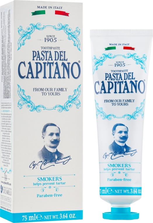 Зубная паста для курильщиков - Pasta Del Capitano Smokers Toothpaste
