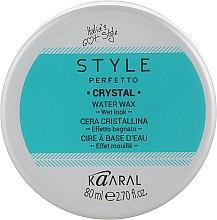 Духи, Парфюмерия, косметика Воск для волос с блеском - Kaaral Style Perfetto Crystal Water Wax