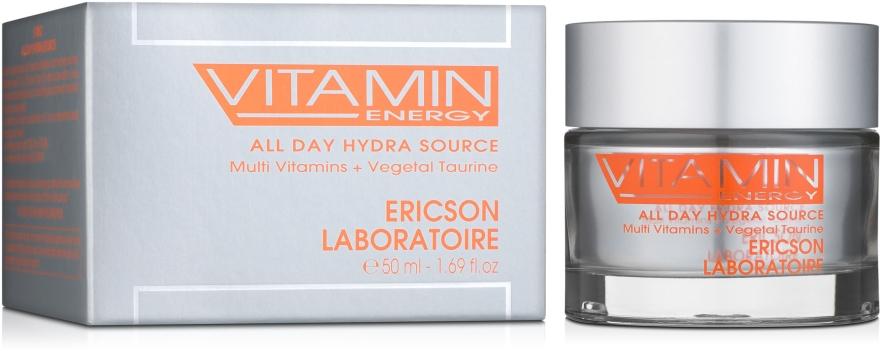 Витаминизированный увлажняющий крем - Ericson Laboratoire Vitamin Energy All Day Hydra Source