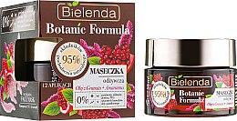 """Духи, Парфюмерия, косметика Маска для лица """"Масло граната и амарантус"""" - Bielenda Botanic Formula Nourishing Face Mask Pomegranate Oil+Amaranth"""