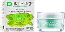 Духи, Парфюмерия, косметика Гель для лица, матирующий - Maurisse Biotaniqe Antioxidant Shine Control Aqua Gel