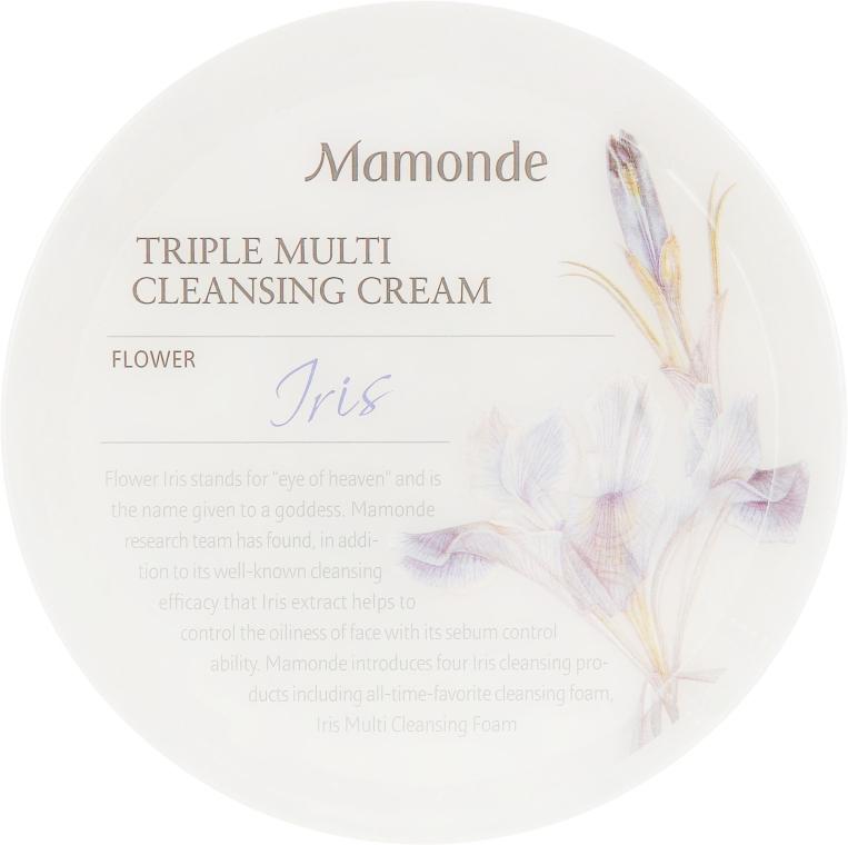 Тройной очищающий крем для лица - Mamonde Triple Multi Cleansing Cream