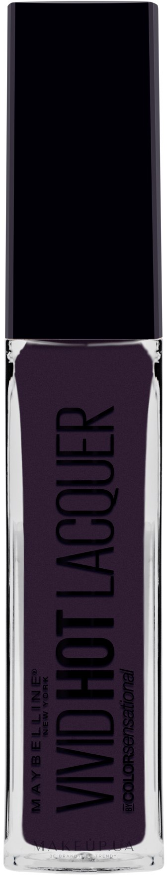 Блеск для губ - Maybelline Color Sensational Vivid Hot Lacquer Lippenstift — фото 82 - Slay It