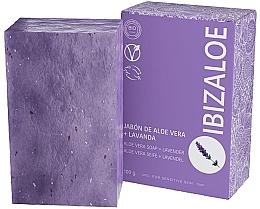 Духи, Парфюмерия, косметика Мыло с лавандой - Ibizaloe Aloe Vera Soap Lavender