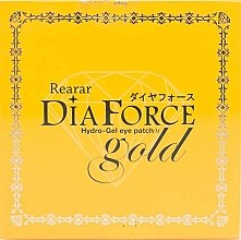 Духи, Парфюмерия, косметика Гидрогелевые патчи с золотом для кожи под глазами - Rearar Dia Force Gold Hydro Gel Eye Patch