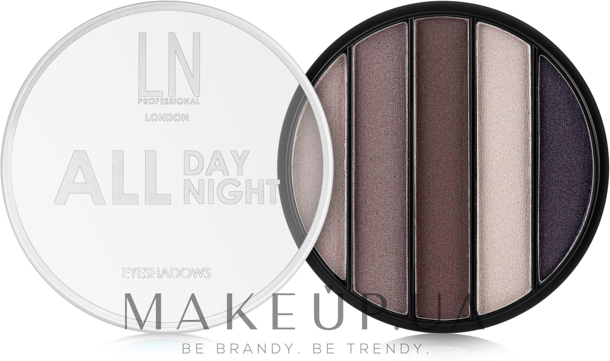 Тени для век - LN Professional All Day All Night Eyeshadows — фото 01