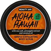 """Парфумерія, косметика Скраб для тіла """"Aloha, Hawaii"""" - Beauty Jar Gently Exfoliating Body Scrub"""