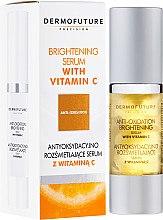 Духи, Парфюмерия, косметика Осветляющая сыворотка с витамином С - Dermo Future Brightening Serum With Vitamin C