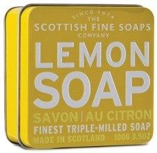 """Духи, Парфюмерия, косметика Мыло """"Лимон"""" - Scottish Fine Soaps Lemon Soap Tin"""