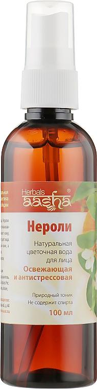 """Натуральная цветочная вода """"Нероли"""" - Aasha Herbals"""
