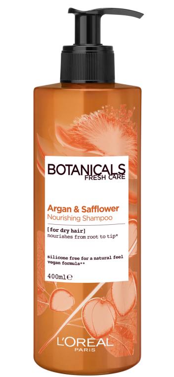 """Шампунь """"Арган и Дикий шафран. Экстракт Питание"""" для сухих волос - L'Oreal Paris Botanicals Fresh Care Argan & Safflower Nourishing Shampoo"""