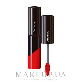 Блиск для губ - Shiseido Lacquer Gloss — фото RD305 - Lust