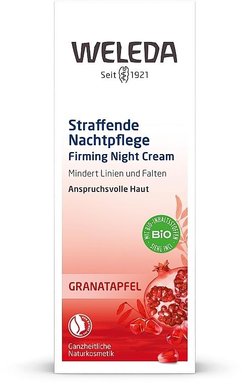 Гранатовый ночной крем-лифтинг - Weleda Granatapfel Straffende Nachtpflege