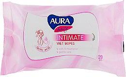 Духи, Парфюмерия, косметика Влажные салфетки для интимной гигиены - Aura Beauty Intimate Wet Wipes