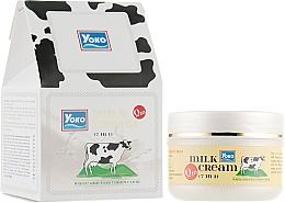 Духи, Парфюмерия, косметика Крем для лица с протеинами молока и коэнзим Q10 - Yoko Milk