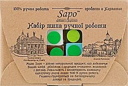 Парфумерія, косметика Набір мила ручної роботи - Sapo (soap/4x50g)